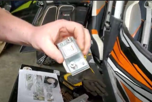 Polaris ranger dual battery kit