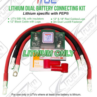 LITHIUM DUAL BATTERY CONNECTING KIT