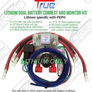 UTV-SBI-LCM UTV Lithium Dual Battery Connect