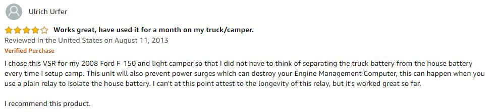 Camper Review