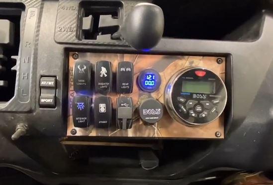 Custom designed Switch Board