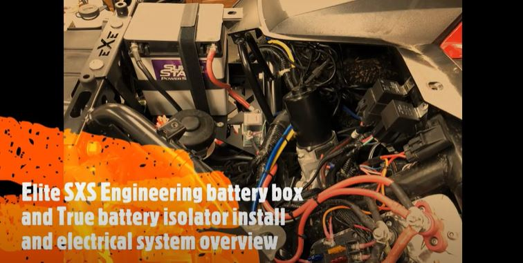 SXS Engineering battery box and True isolator install and electrical overview on the Talon X.